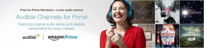 Amazon Prime & Audible