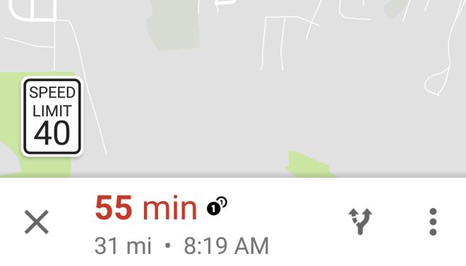 Google Maps: Anzeige von Geschwindigkeitsbegrenzungen