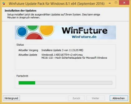 WinFuture Windows 8.1 Update Pack (Vollversion)