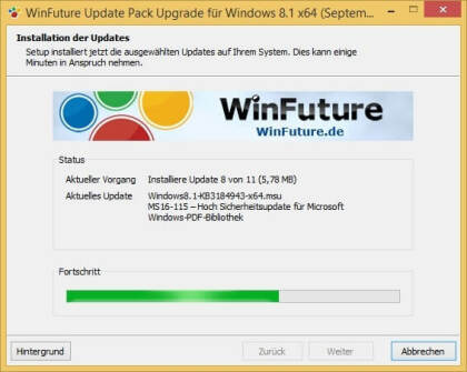 WinFuture Windows 8.1 Update Pack (Upgrade)