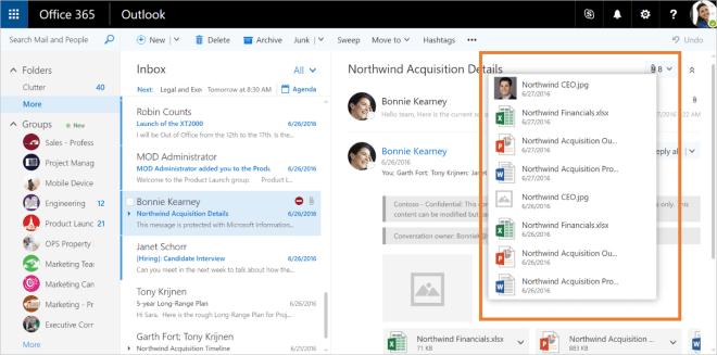 Outlook.com: Support für Google Drive und Facebook-Fotos