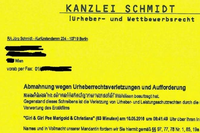 "Fake-Porno-Abmahnung ""Jörg Schmidt"""