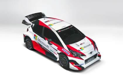 Microsoft sponsort Toyota WRC Rally Team