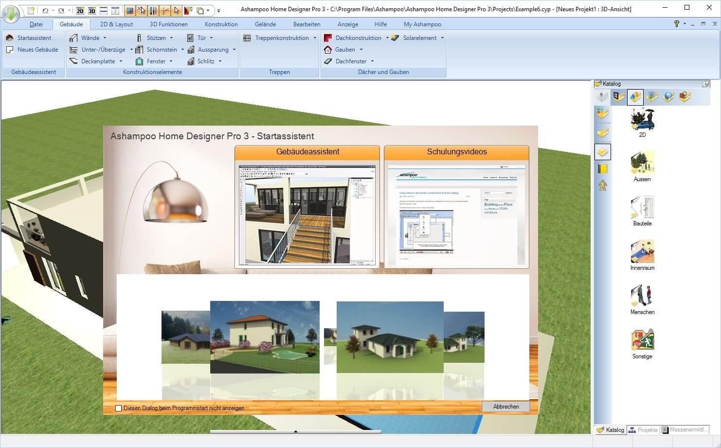 Ashampoo Home Designer Pro - Häuser am PC entwerfen Download