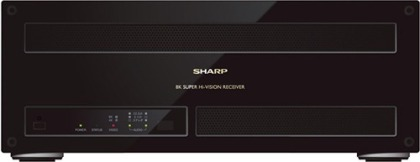 8K-Sat-Receiver von Sharp