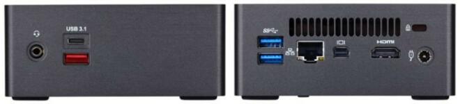 "Gigabyte Brix Mini-PCs mit Intel ""Kaby Lake"""