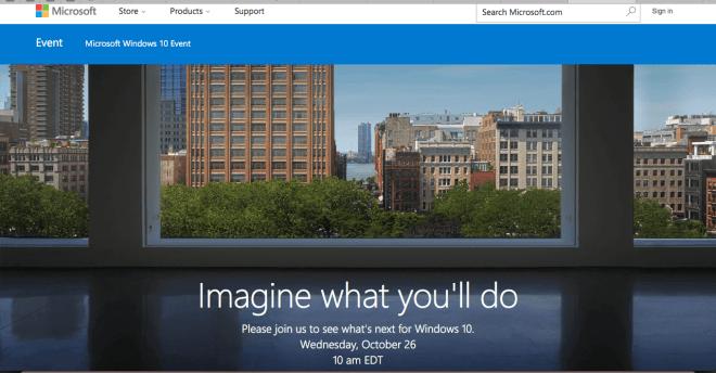Microsoft Oktoberevent