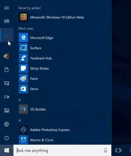 Windows 10 Build 14942
