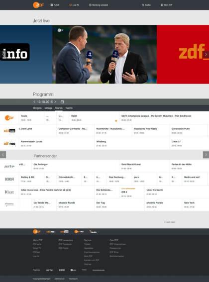Neue ZDFmediathek