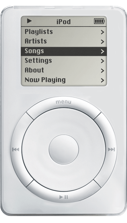 Apple iPod: Erste Generation