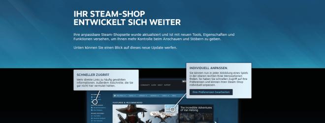 Steam: Alles Wichtige zum Discovery Update 2.0