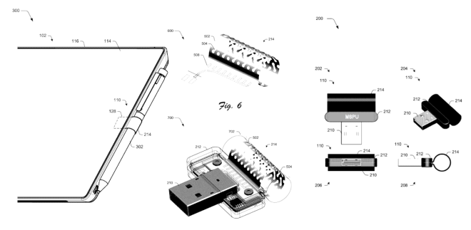 Patentantrag: Induktiver Surface Pen Loop