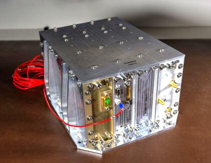 CubeSat mit Röntgen-Funk-Equipment