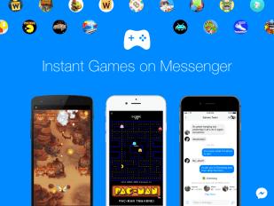 Spiele im Facebook Messenger