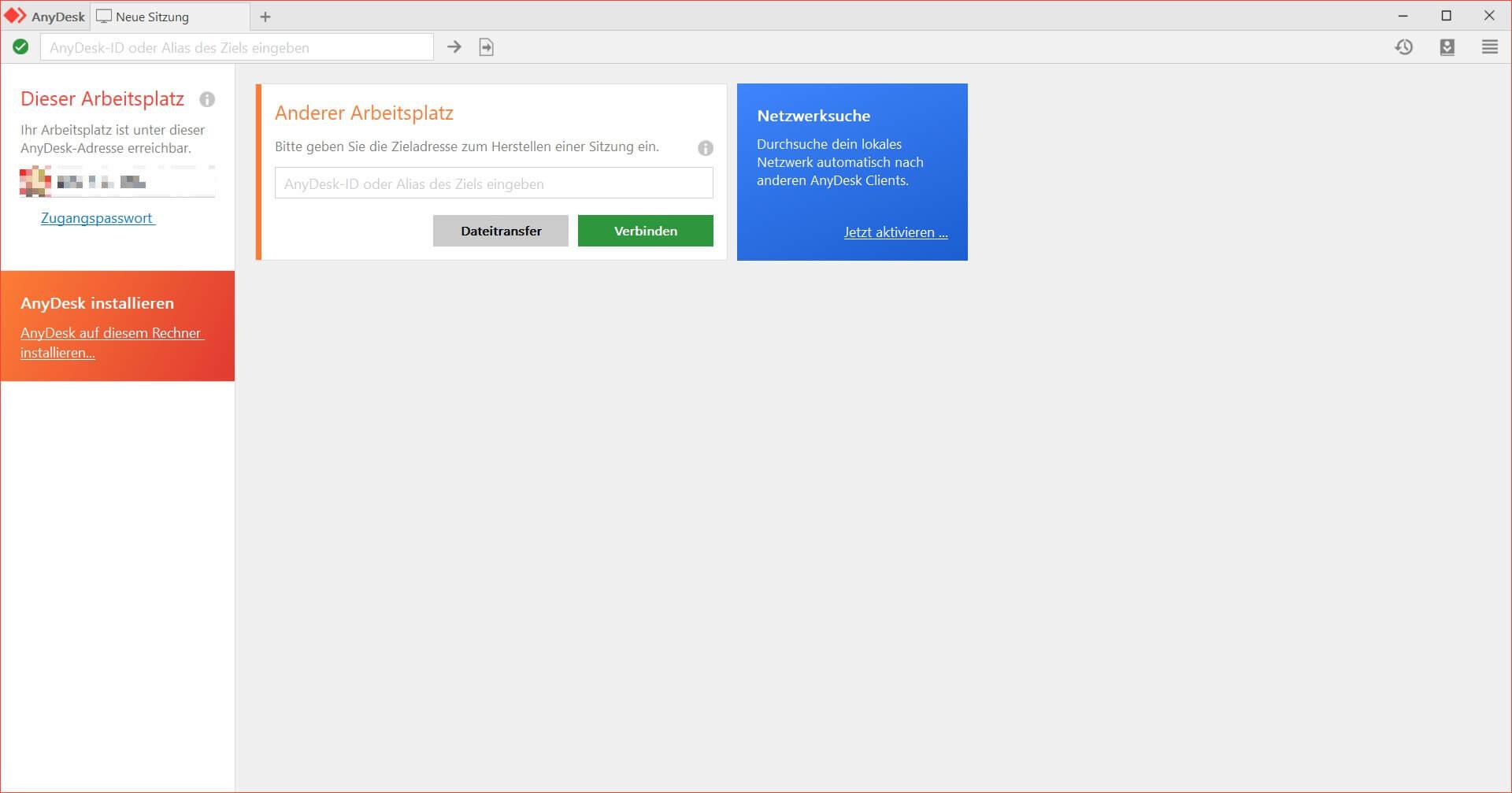 AnyDesk - Schnelle Remote-Desktop-Software Download