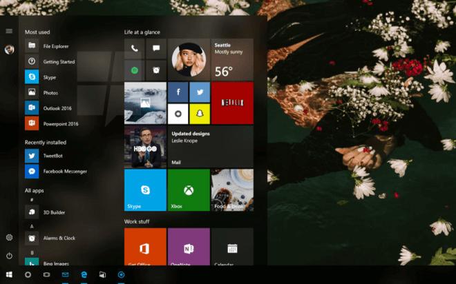 Windows 10: Project Neon
