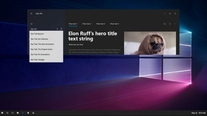 Windows 10: Project Neon