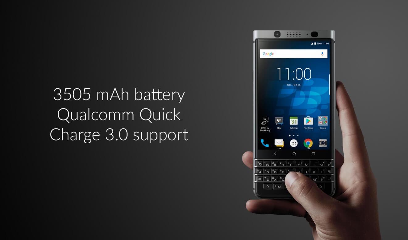 Neuer Versuch für Marke Blackberry mit Tastatur-Telefon