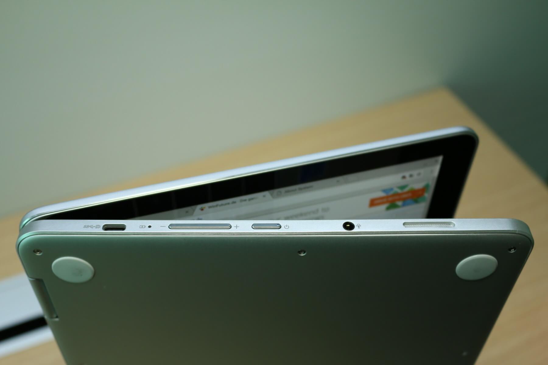 ASUS Chromebook Flip C302: Edles Chrome-OS-Convertible
