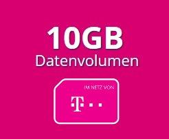 Mobilcom-Debitel Telekom Daten-Tarif 10 GB LTE, bis zu 150 Mbit/s, bestes D-Netz, keine Datenautomatik, EU-Roaming