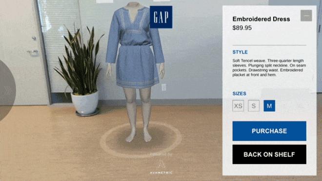 Google Gap Lassen Kunden Kleidung Per Ar App Anprobieren Winfuture De