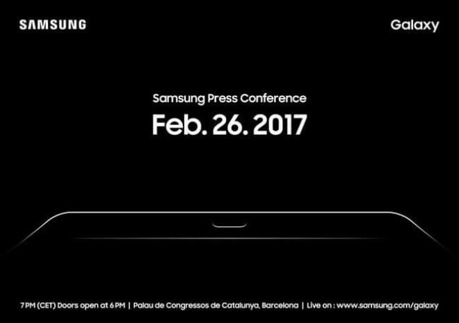 Samsung auf dem MWC 2017
