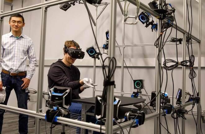 Zuckerberg Oculus Handschuhe