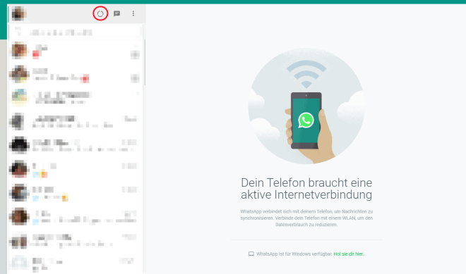 Whatsapp Web Hat Status Funktion Bekommen Desktop Version
