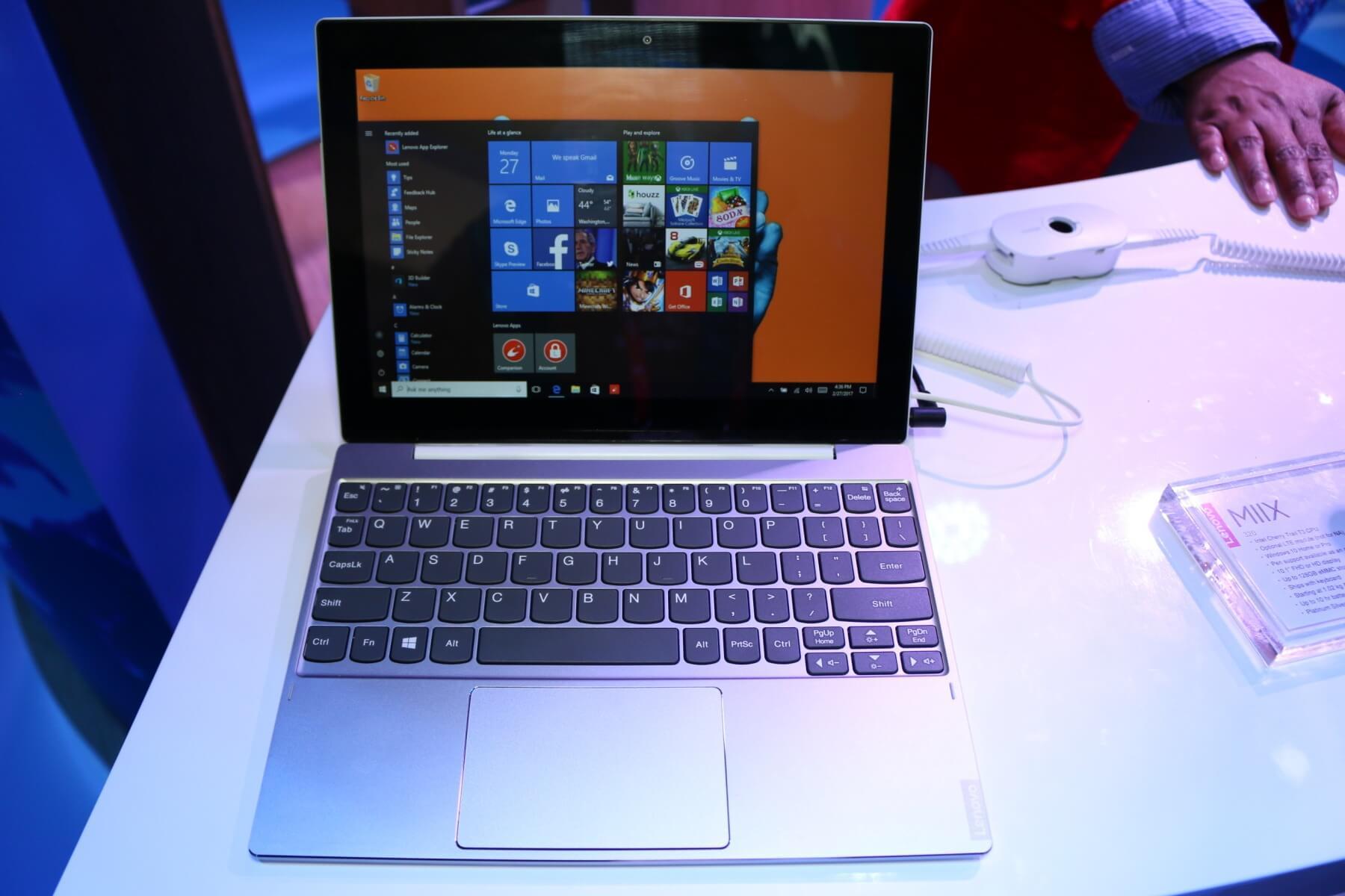 Lenovo Miix 320: Günstiges 2-in-1 Windows Tablet mit LTE