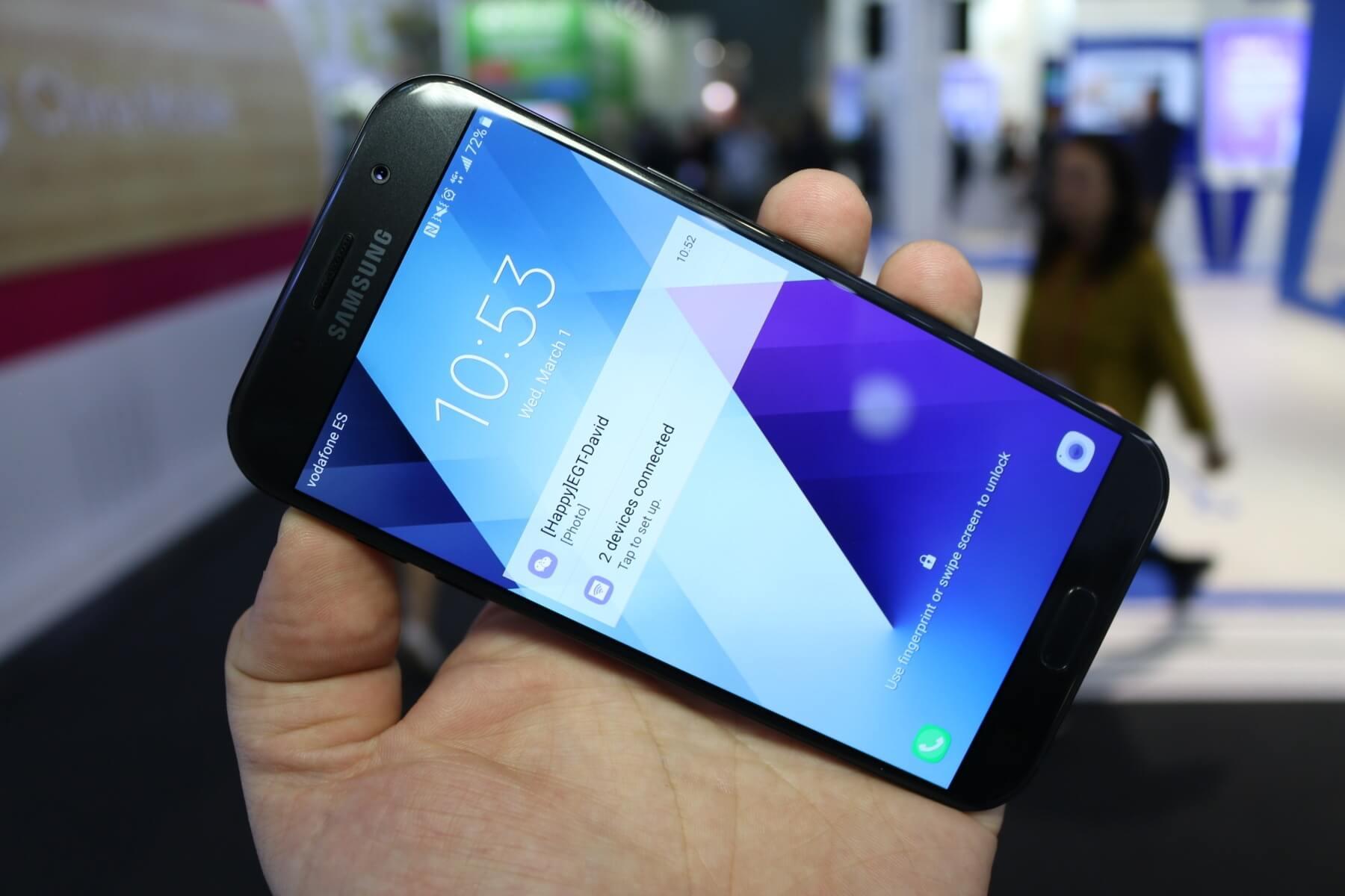 Samsung Galaxy A7 Vielversprechendes Jahres Update Der A Klasse