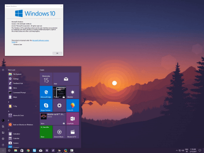 Windows 10 Build 15058