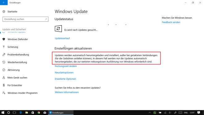 Windows 10 Build 15058