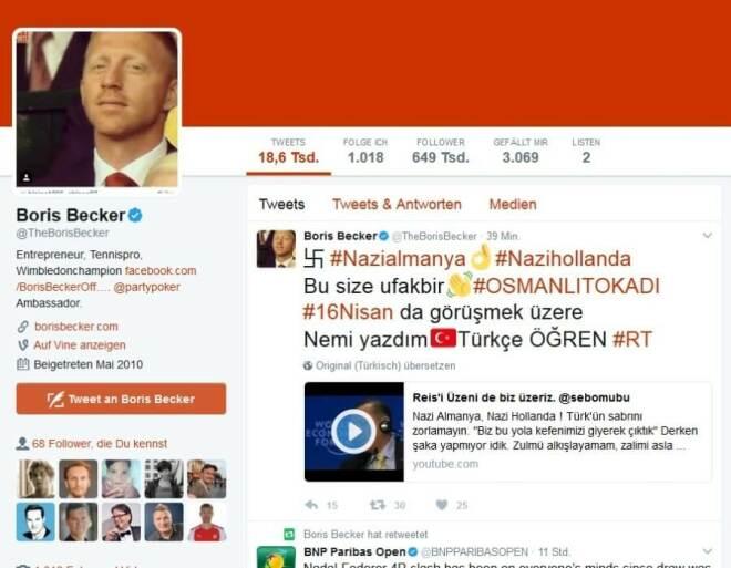 Türkischer Hack auf Twitter