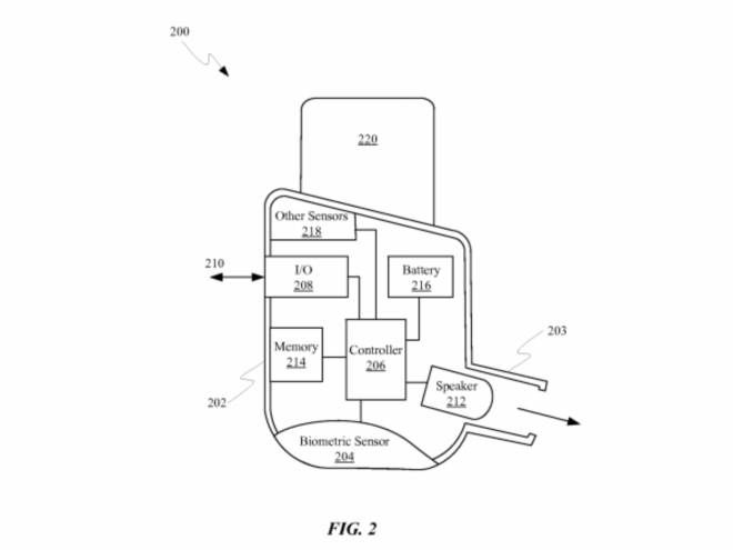 Apple Earbuds Patent