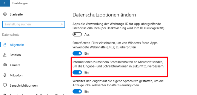 "Windows 10: Aufregung um ""Keylogger"""
