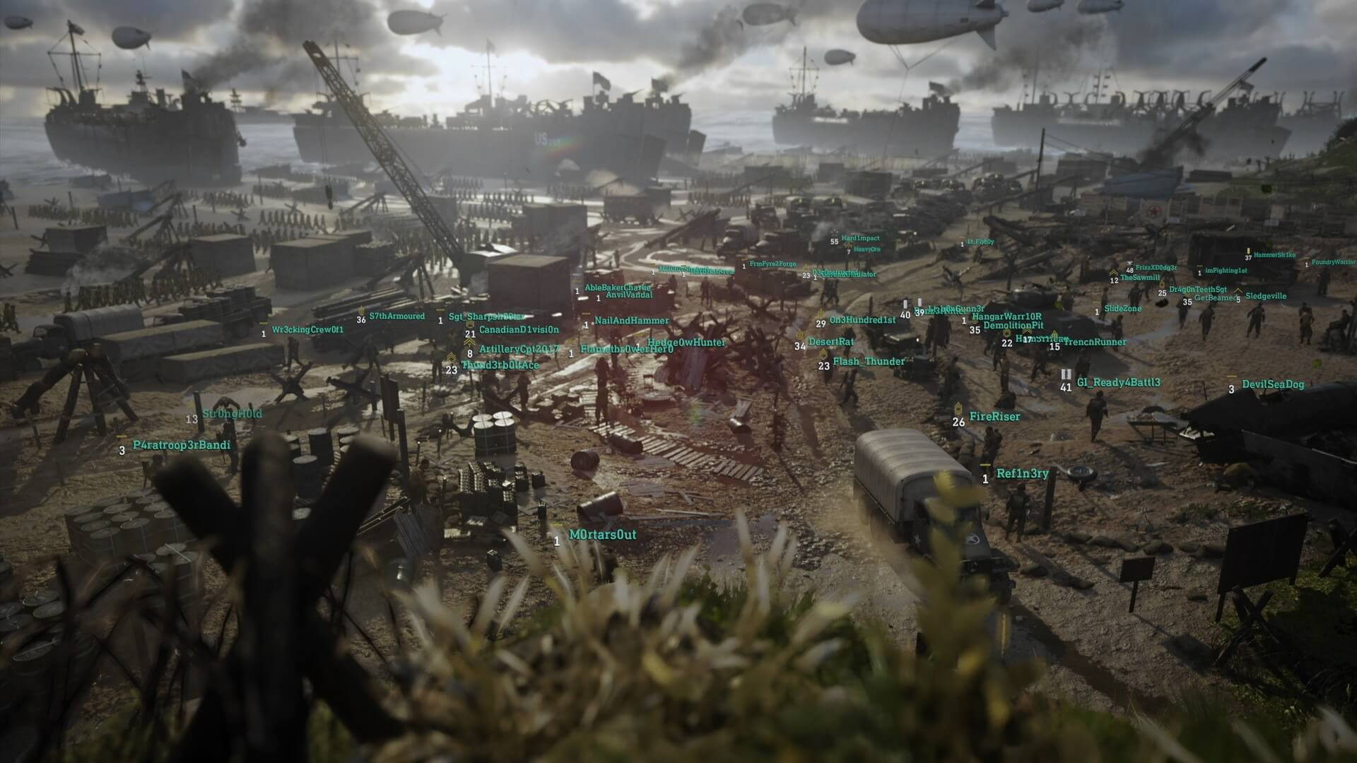 Call of Duty: WWII - Multiplayer-Trailer stellt Carentan-Map vor Call Of Duty Maps on