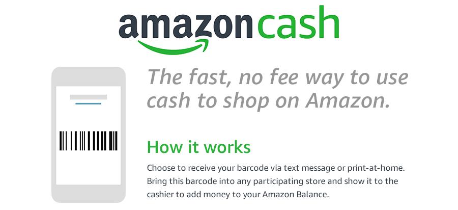 c4ffe4008e78ca Amazon Cash Nach Angaben von Amazon kann der Kunde bei jeder Transaktion  einen Betrag in Höhe von 15 bis 500 US-Dollar auf sein Konto einzahlen  lassen.