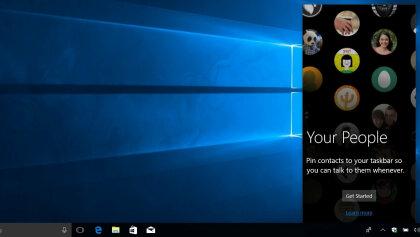 "Windows 10 ""My People"""