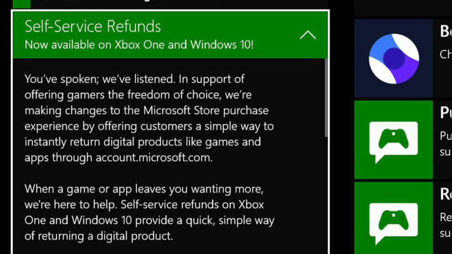 Windows & Xbox Store Refunds