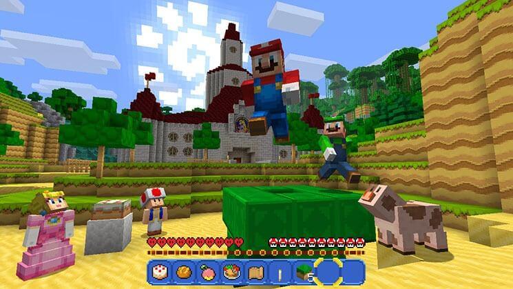 Die Perfekte Kombination Minecraft Startet Für Nintendo Switch - Minecraft hier spielen