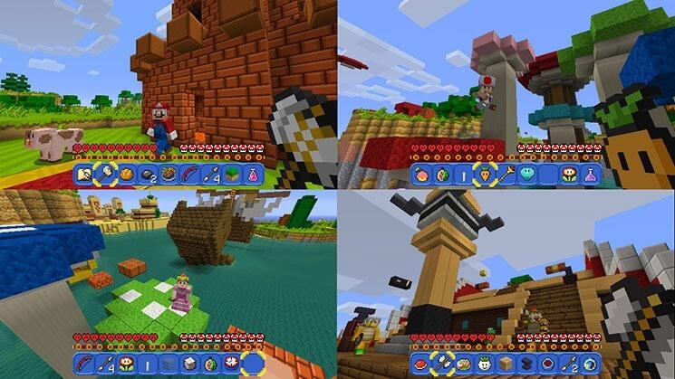 Nimm Das PS Microsoft Und Nintendo Zelebrieren Ihre Freundschaft - Minecraft ps4 pc zusammen spielen