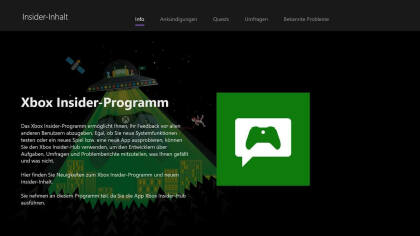 Xbox Insider Hub