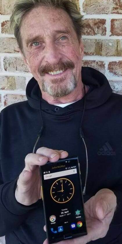 John McAfee Privacy Phone