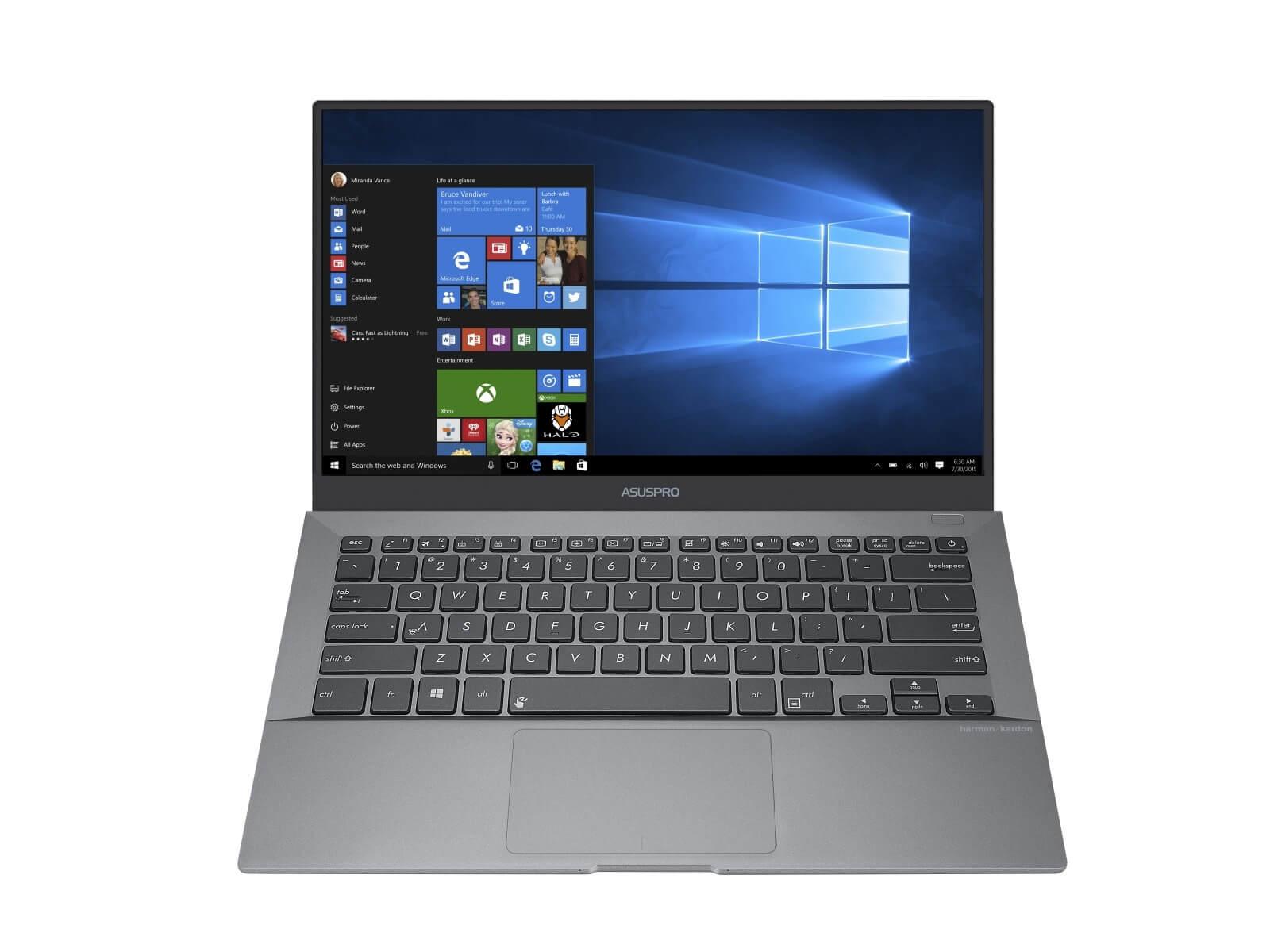 Asus Pro B9440 Bloatware Freie Windows 10 Installation Garantiert