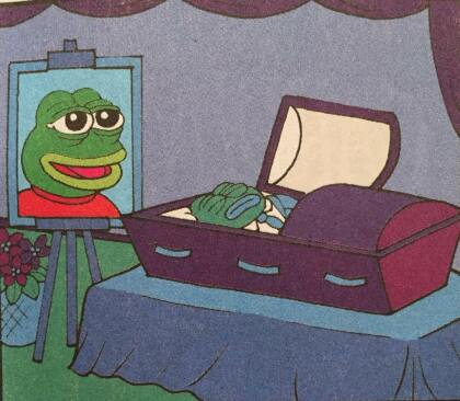 Pepe the Frog ist tot