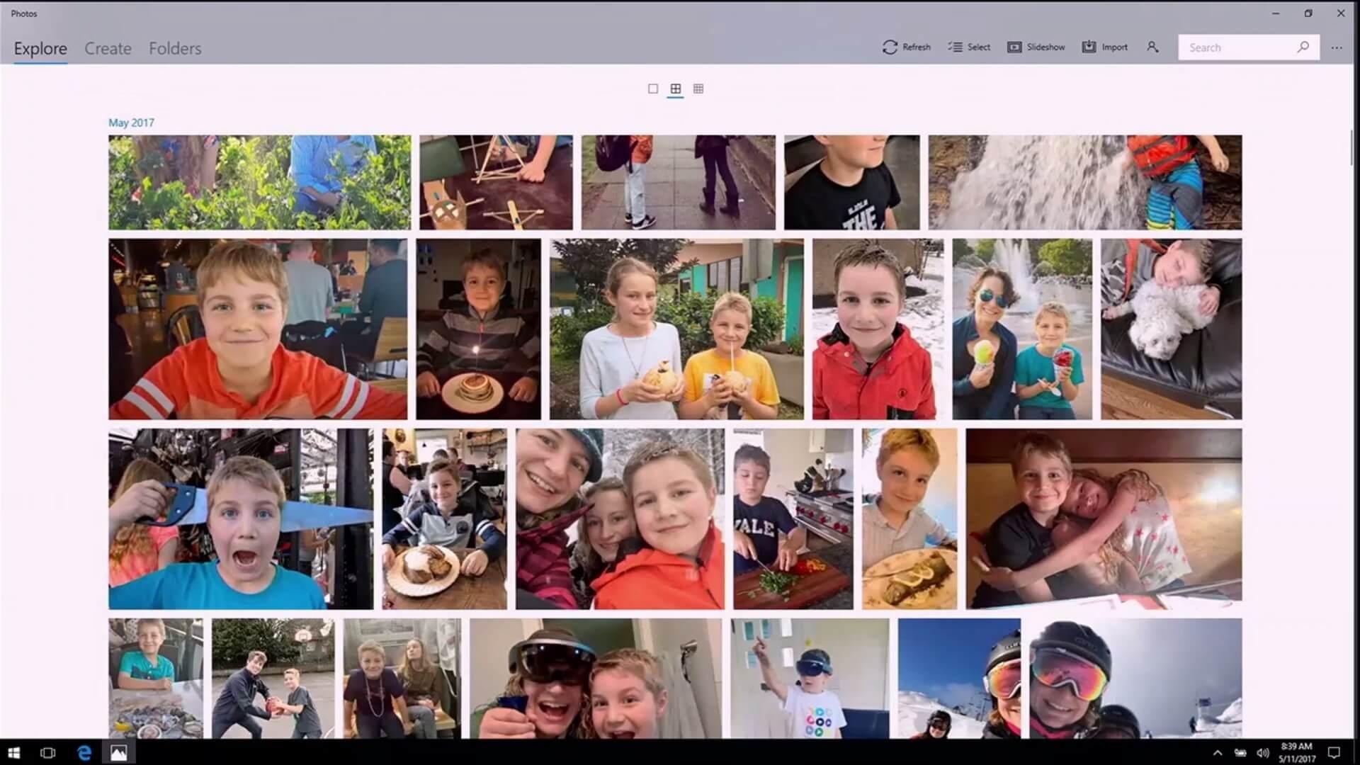 Microsoft Story Remix