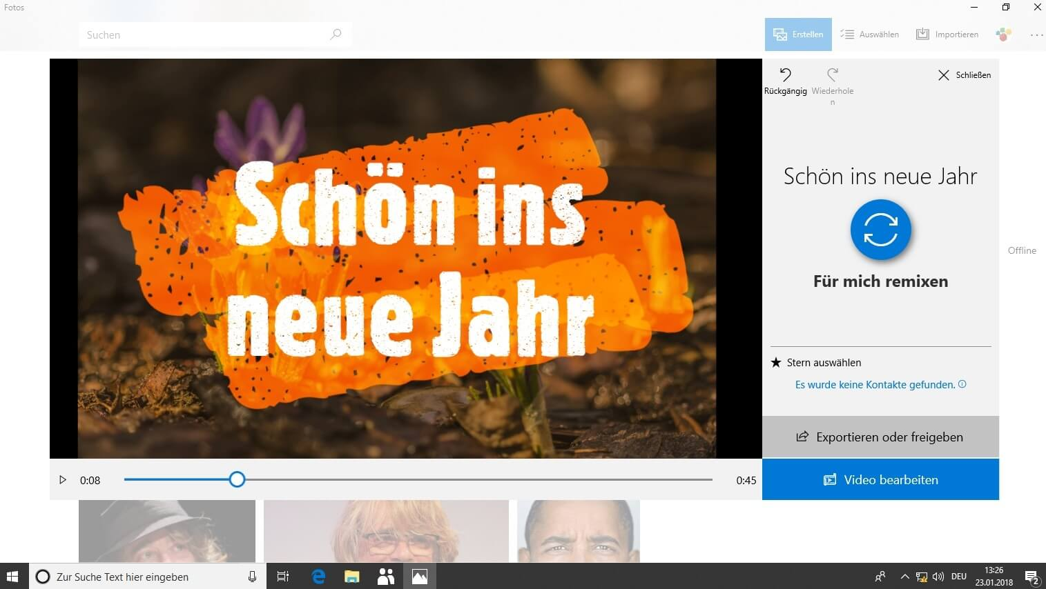 Windows 10 Story Remix Mit Wenigen Klicks Zu Schicken Videos