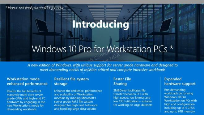 Windows 10 Pro für Workstations - Neue Version für Hochleistungs-PCs