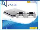 Sony PlayStation 4 Slim Silber
