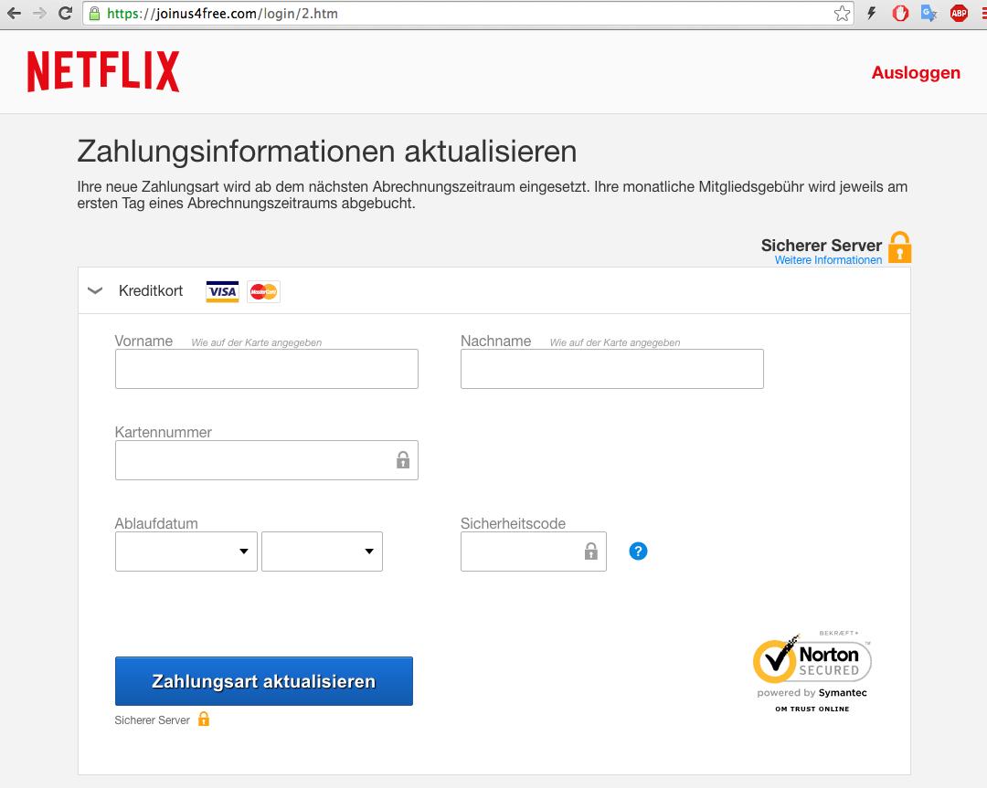 Netflix-Junkies sind die neuen Phishing-Opfer - WinFuture.de